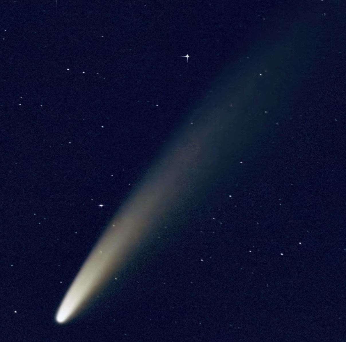 Comet NEOWISE Brightens the Night in Stunning Space Station Video