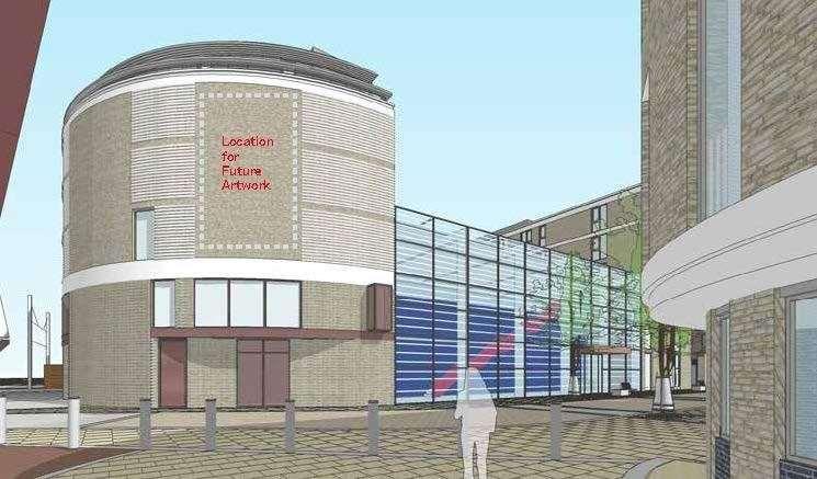 Brookgate's revised designs for the Devonshire quarter at the station. Picture: Brookgate / Bidwells (42745800)