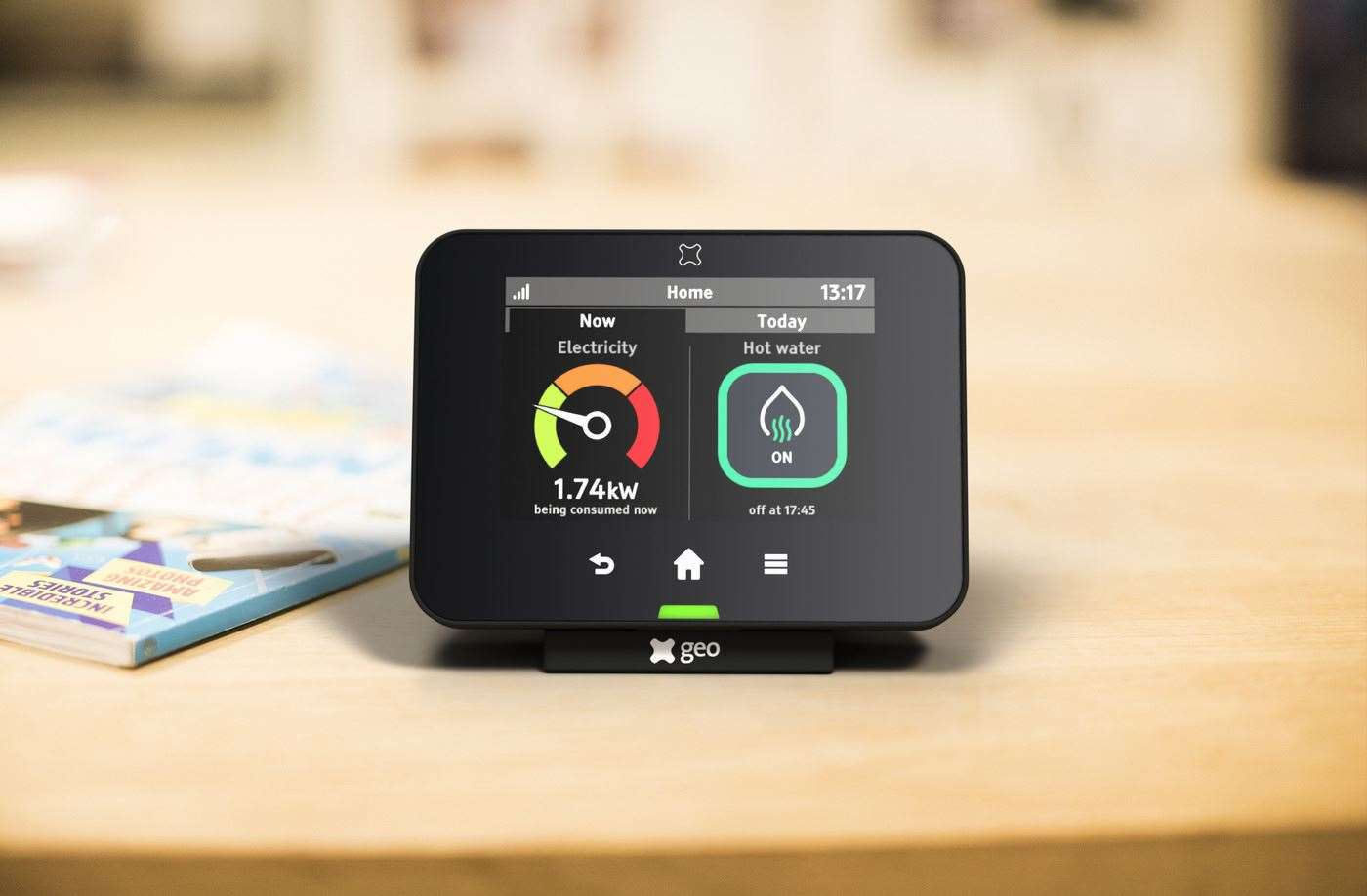 geo's smart metering system has extra intelligence with ONZO's services