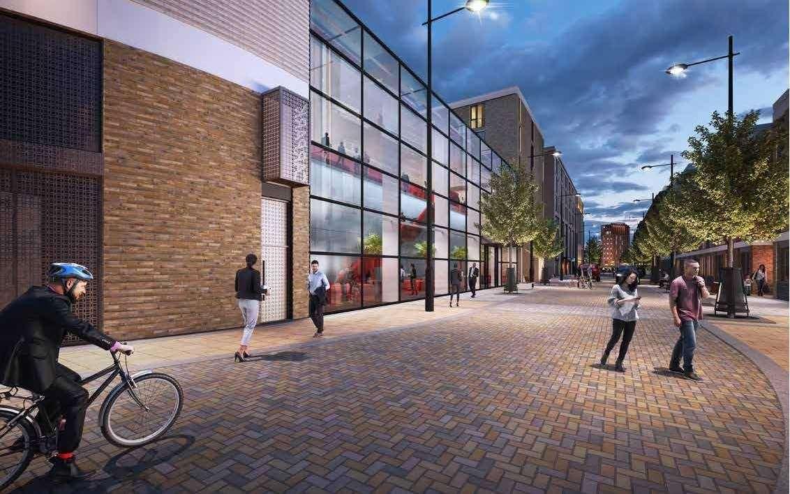 Brookgate's revised designs for the Devonshire quarter at the station. Picture: Brookgate / Bidwells (42745794)