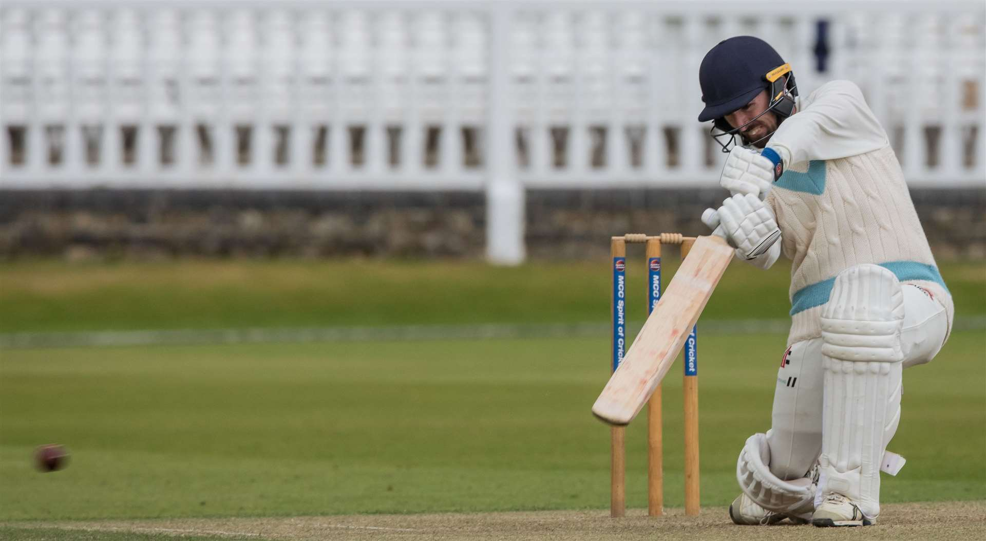 Nick Taylor in action for Cambridge University CC in the Varsity One-Day Match at Lord's. Picture: Mike Harris (26271439)