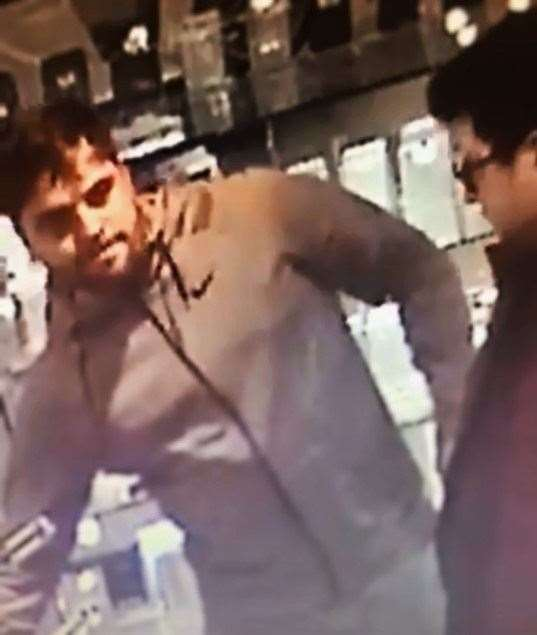 Police issue CCTV pictures of men they would like to speak to after thefts in Cambridge