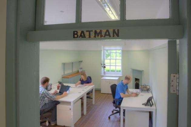 The Batman room in use at The Officers Mess at Duxford