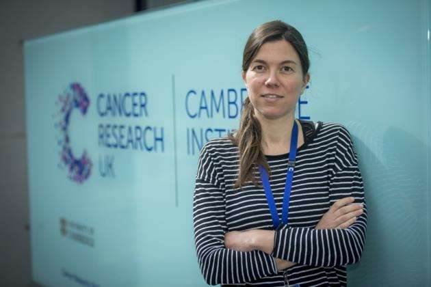 Susana Ros Dominguez is helping to carry out the research at Cancer Research UK Cambridge Institute. Picture: Keith Heppell