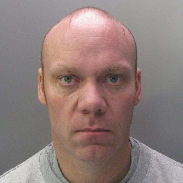 Andrew Clay, 40, of Cambridge was found guilty of burglary and sentenced to three years and four months at Peterborough Crown Court on April 10