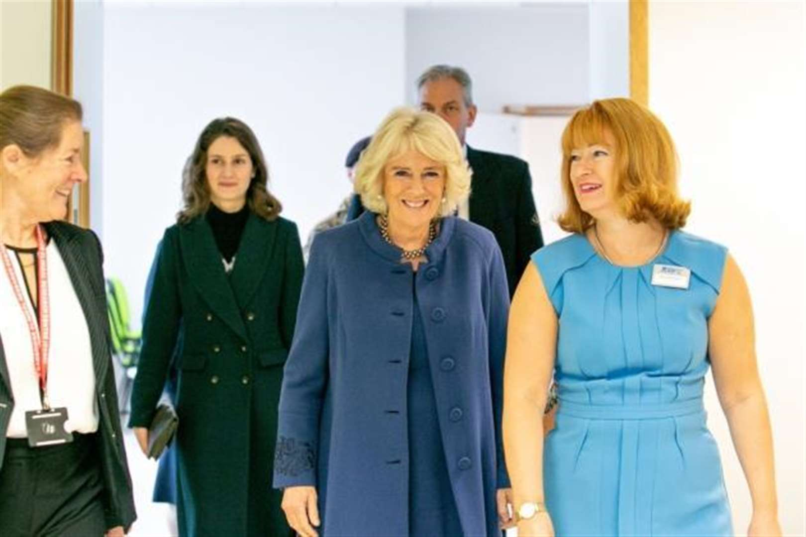 The Duchess of Cornwall visits Addenbrooke's Hospital