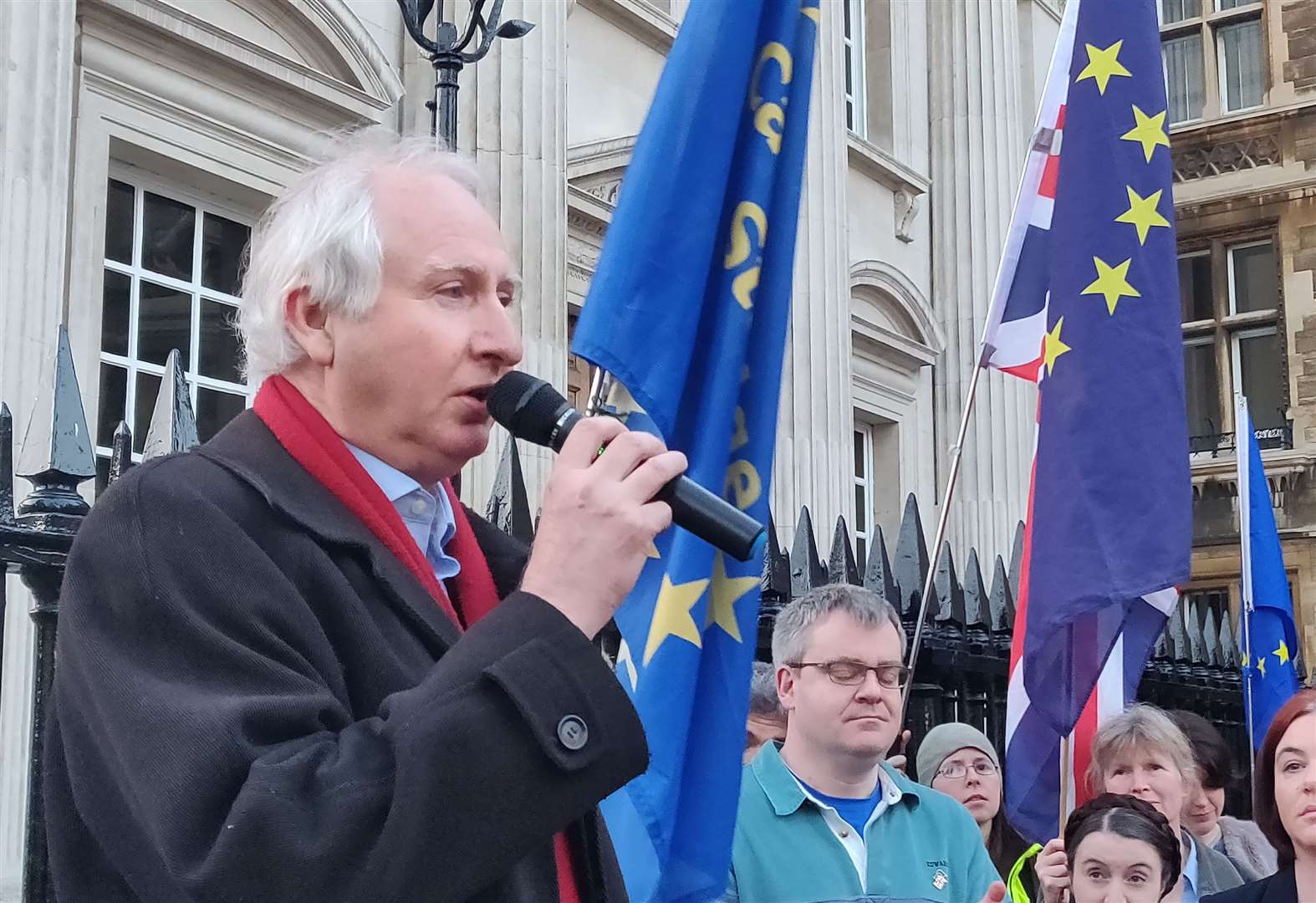 Daniel Zeichner MP tells No Brexit Day rally in Cambridge: 'We're winning the argument'
