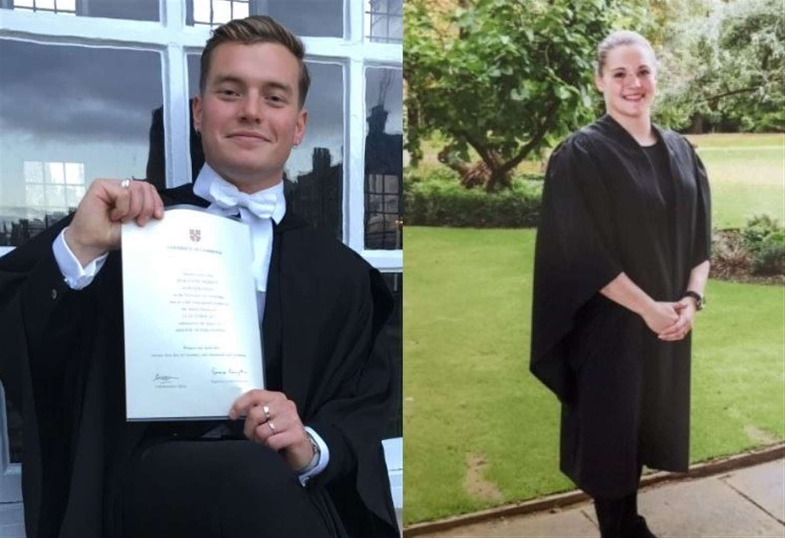 Cambridge graduates Jack Merritt and Saskia Jones died after single stab wounds to chest, inquest hears