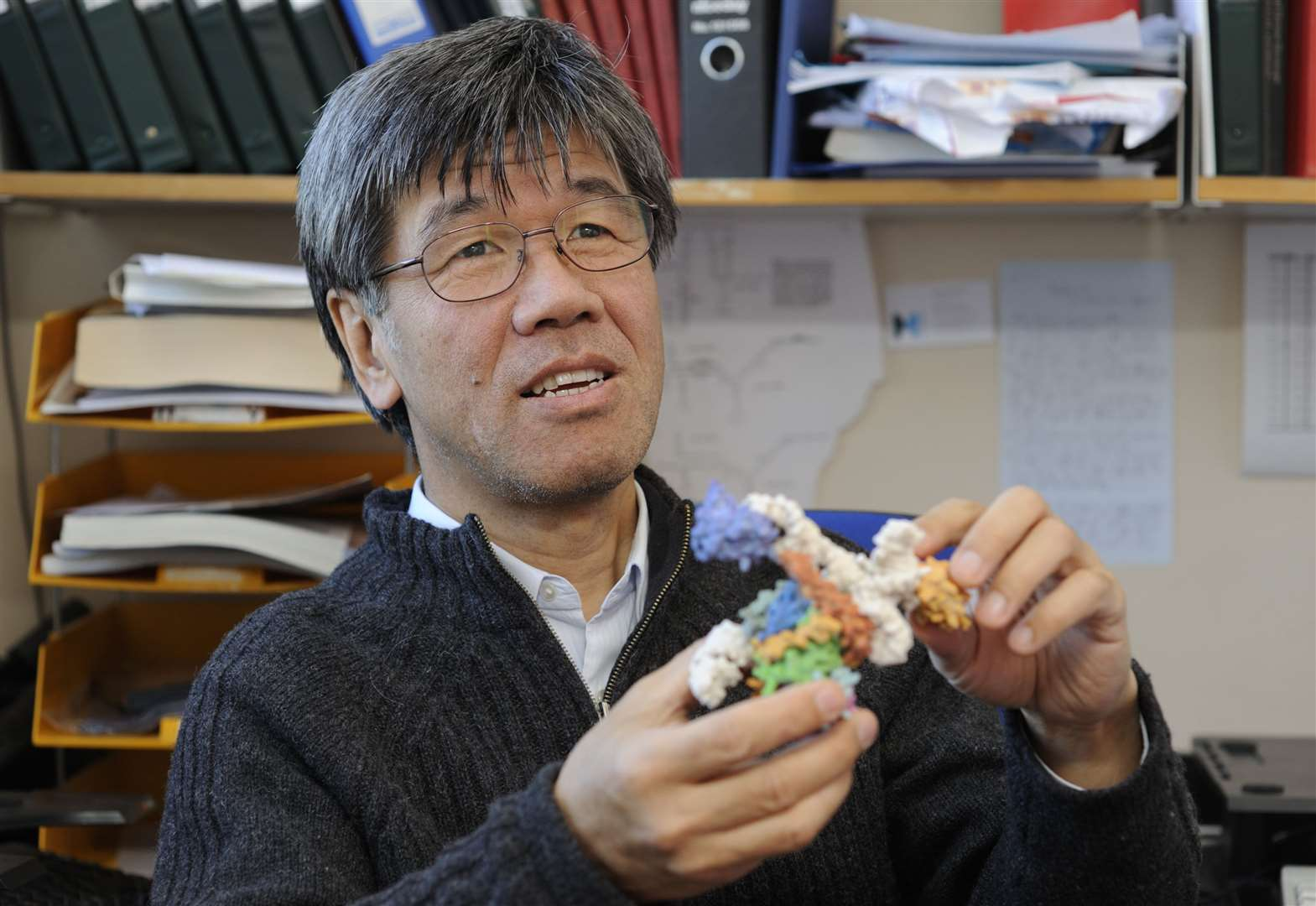 Tributes following the death of Kiyoshi Nagai, of the MRC Laboratory of Molecular Biology