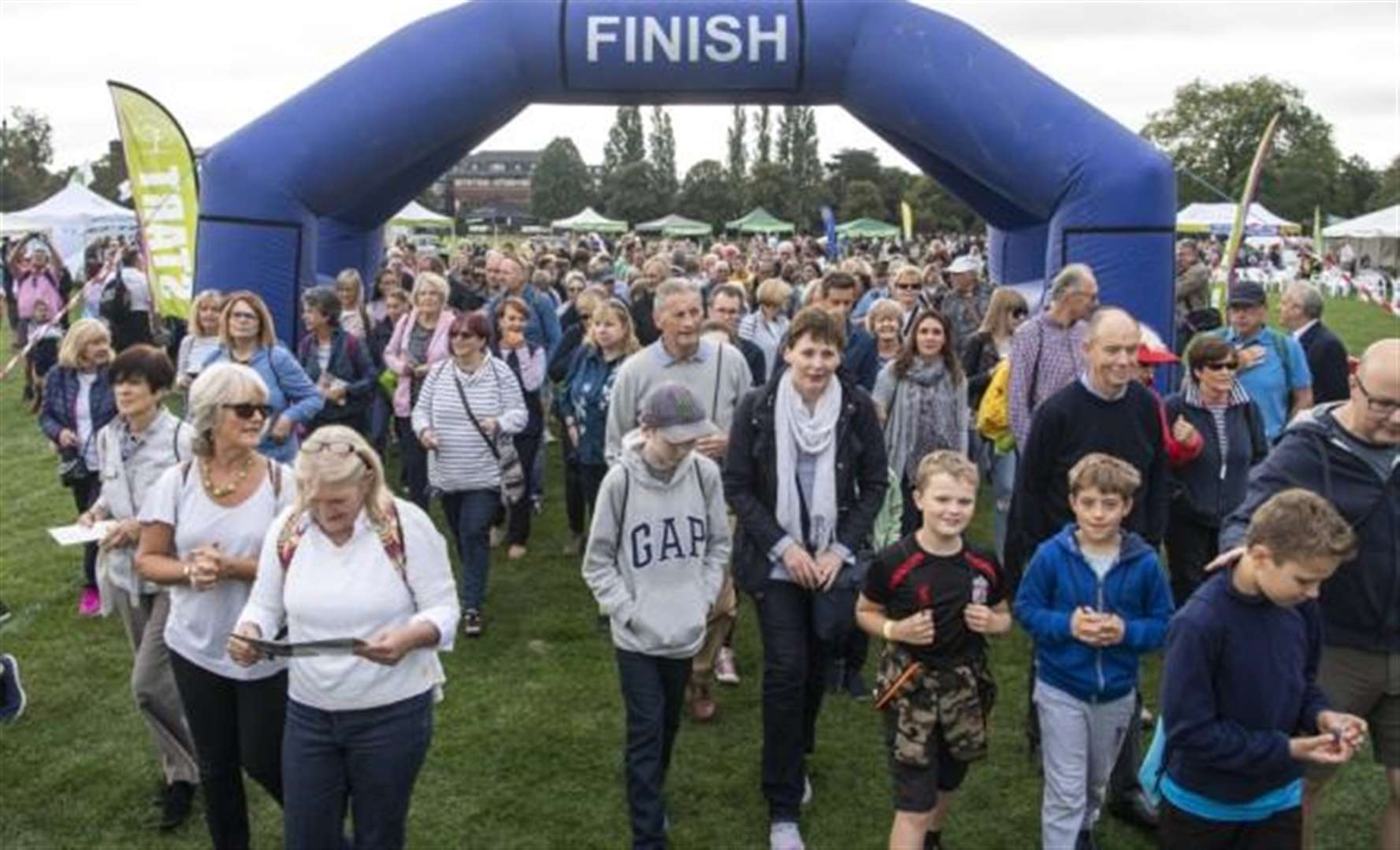 Our picture gallery as more than 2,000 enjoy Bridge the Gap walk in Cambridge