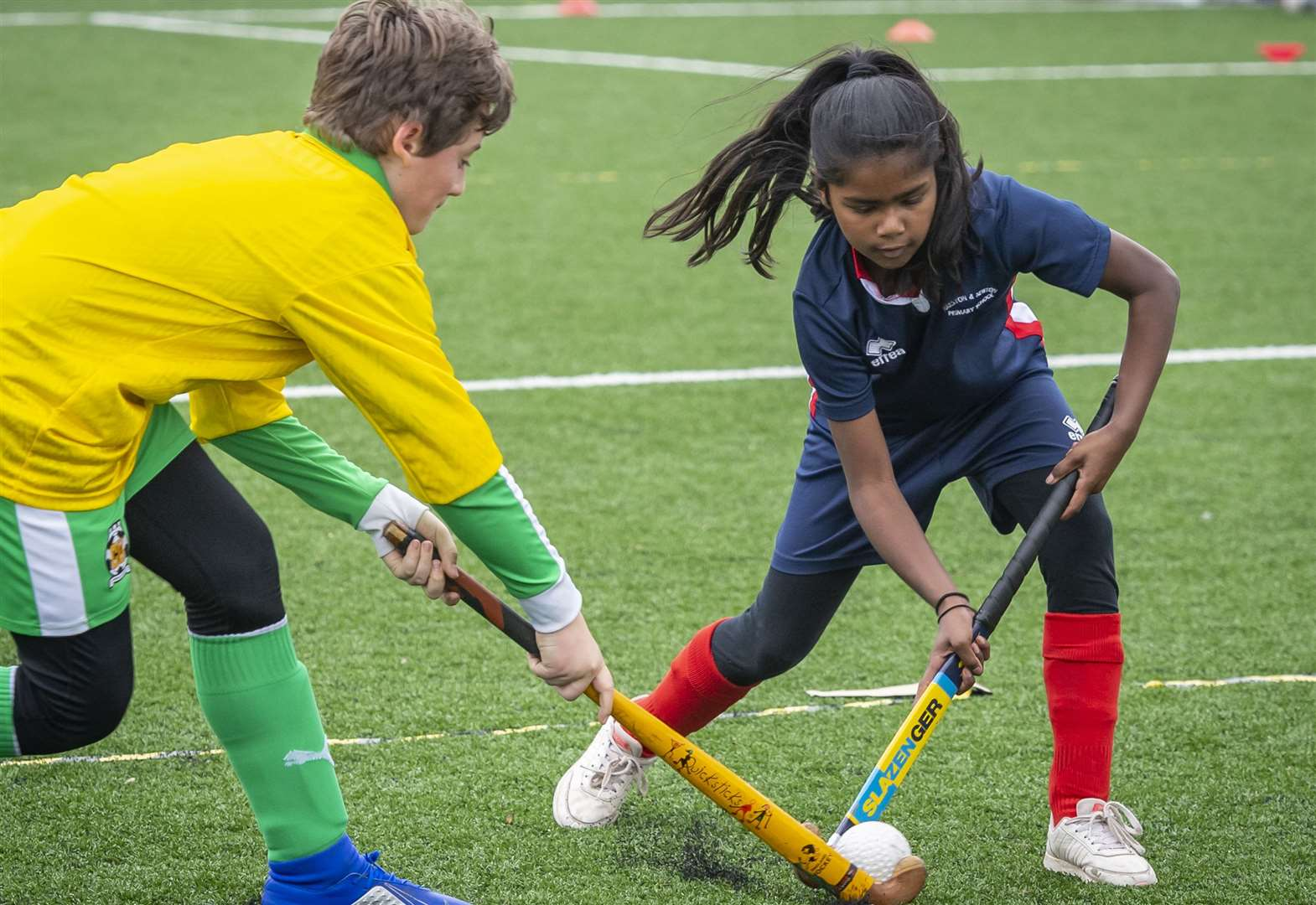 Record-breaking entry at South Cambs School Sports Partnership Year 5/6 Quicksticks Hockey competition