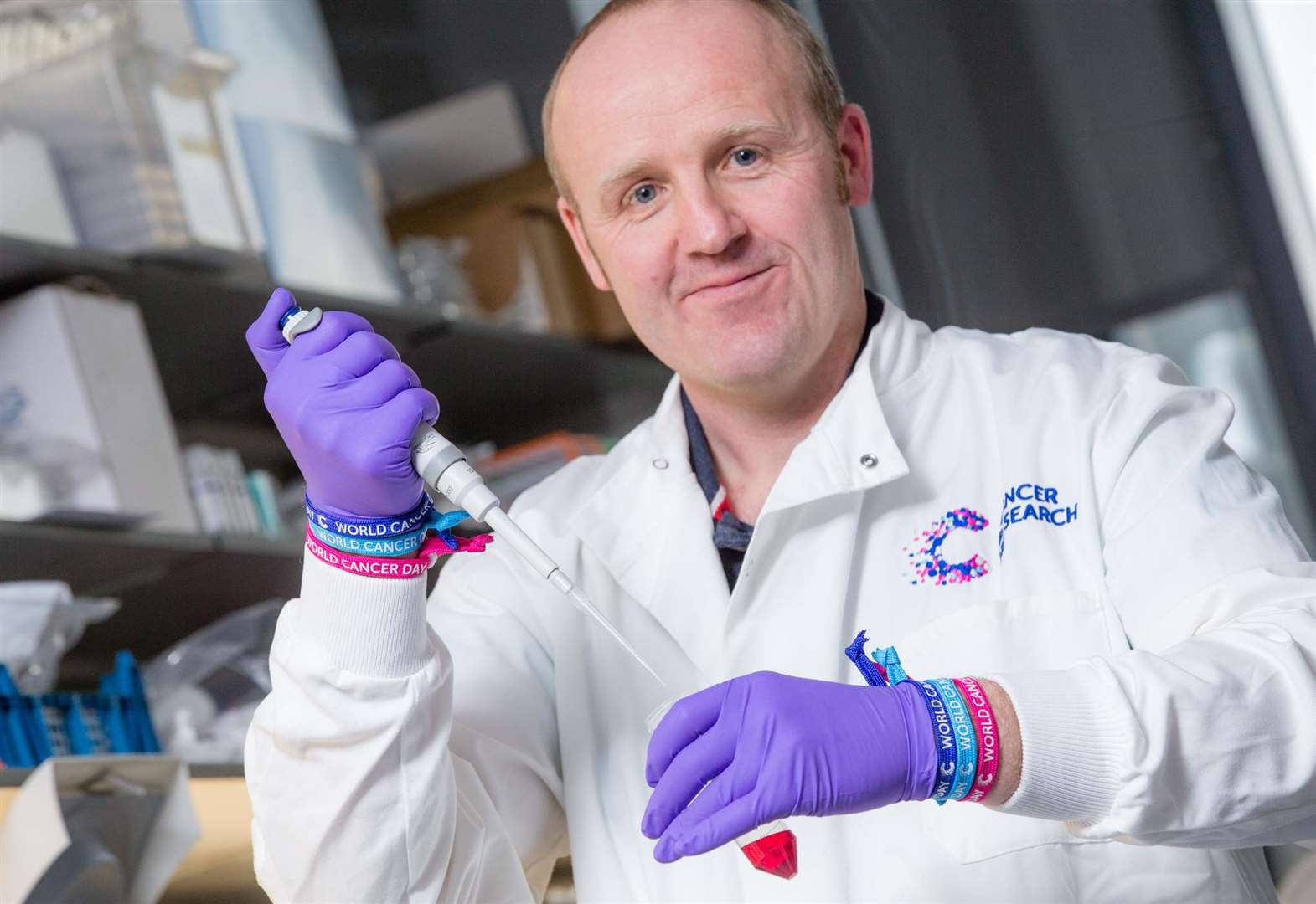World Cancer Day: Why Cambridge researcher Dr Mike Gill is wearing a Unity Band