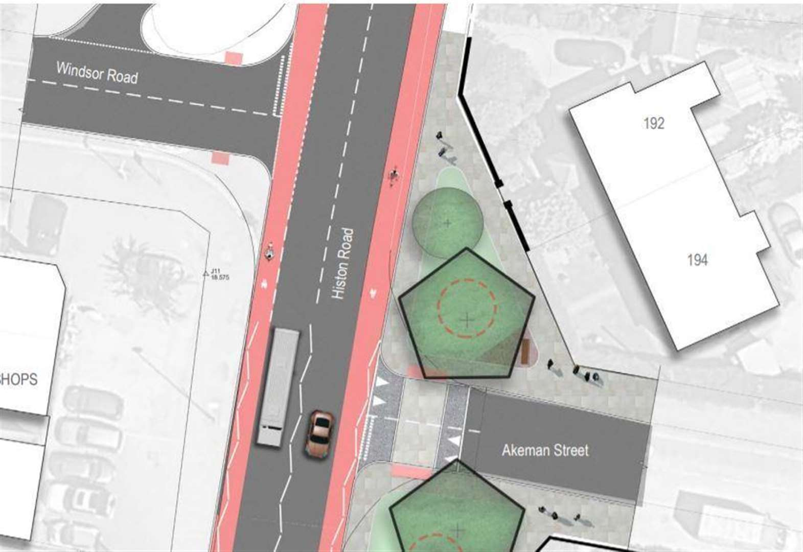 £6m Histon Road plan approved