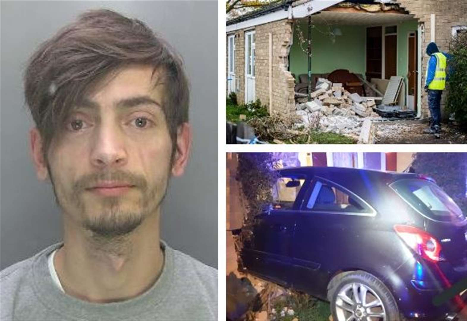 Jail for Cambridge drink-driver who crashed into disabled pensioner's Arbury home