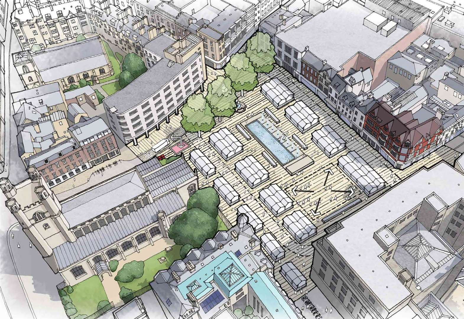 Private investors could fund market redevelopment