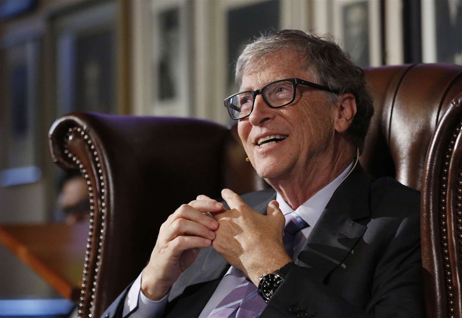 Bill Gates makes two big predictions for global healthcare in Cambridge Union speech