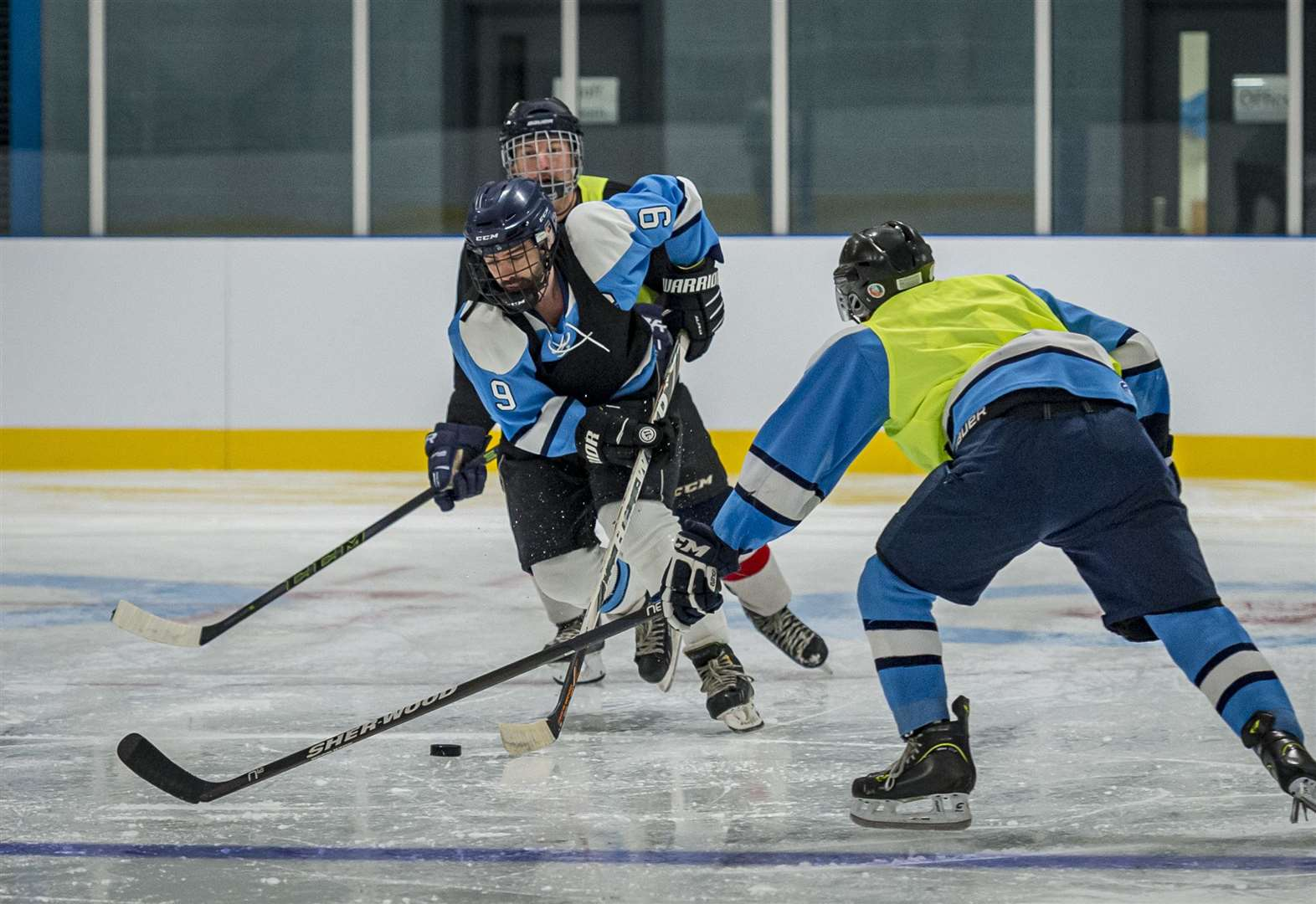 Ice hockey arrives in Cambridge with official opening of the Ice Arena and Gattiker Ice Rink