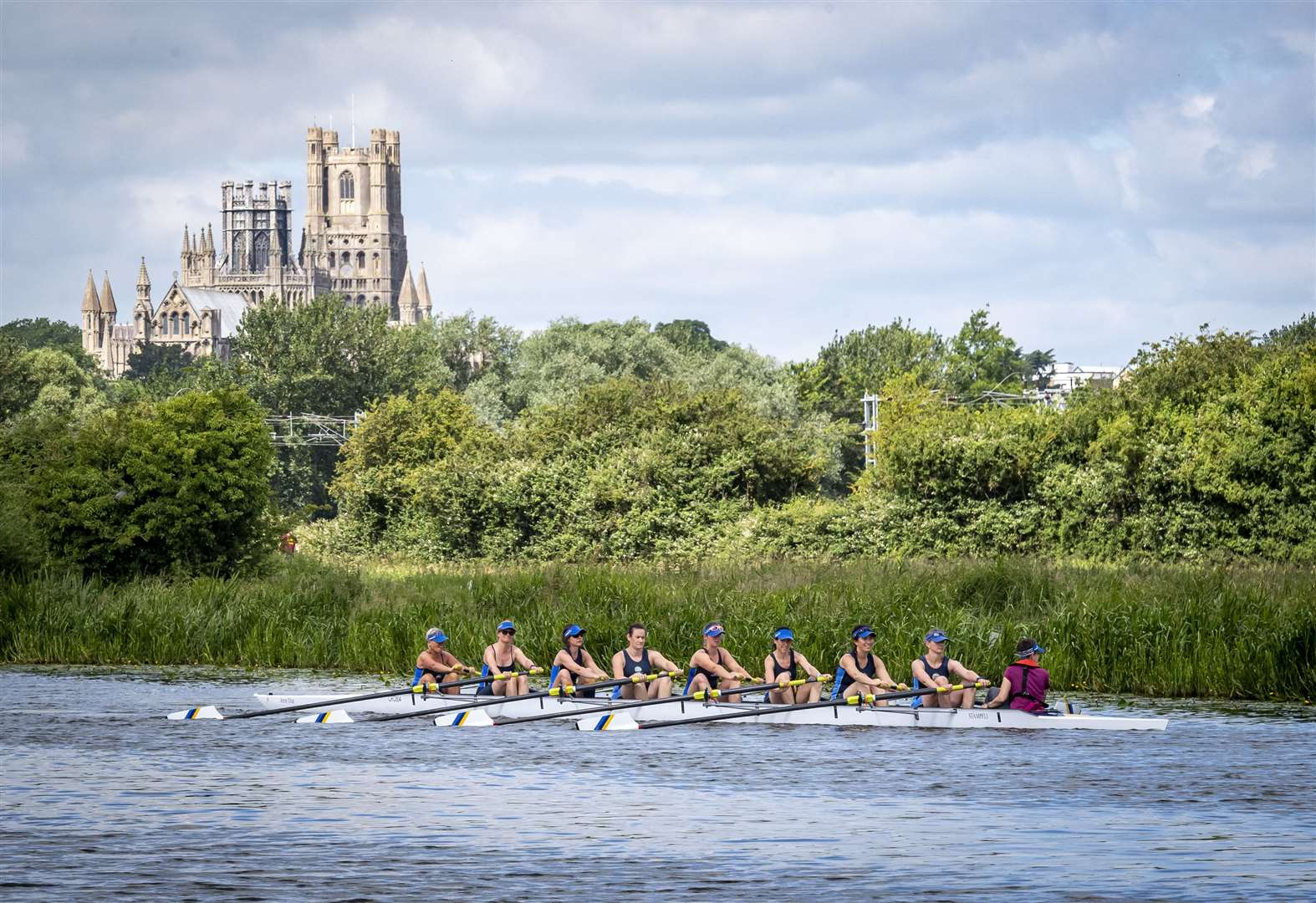 Chesterton Rowing Club women's squad boosted by new boat for Town Bumps