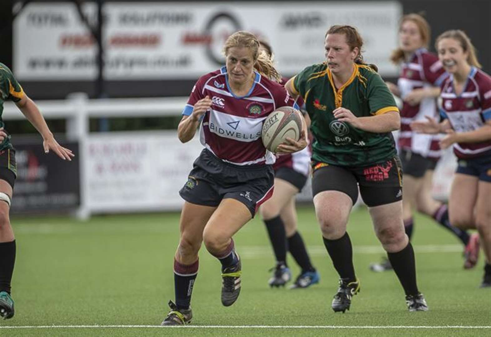 Charlie McLaughlin stars in Shelford Women's victory over Peterborough Lions