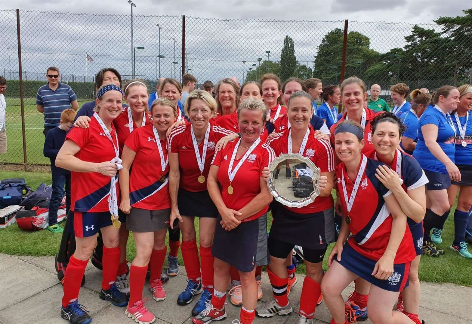 Cambridge City over-40s secure England Hockey summer masters crown