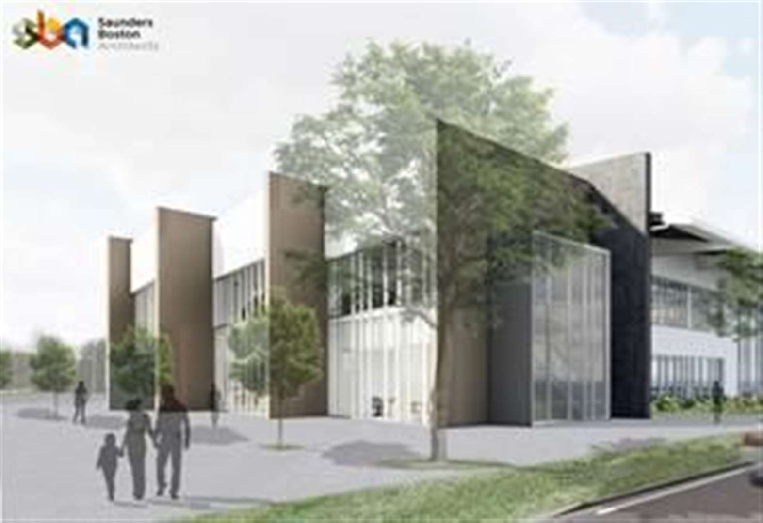 £10.7m leisure centre designed by Saunders Boston Architects gets planning permission