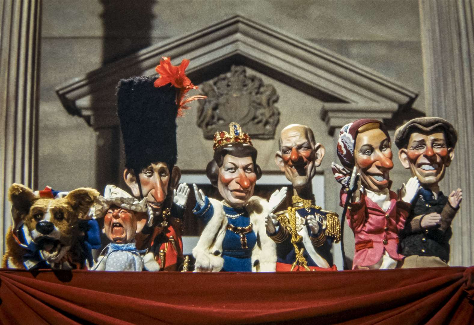 Uncovered: the Spitting Image puppets that never made it to the screen