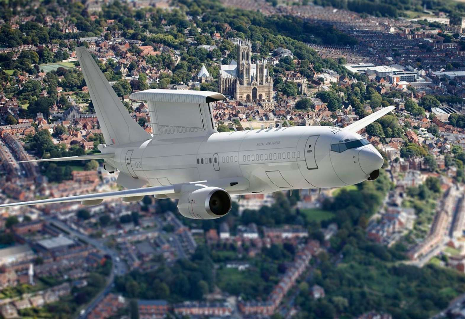 Marshall begins initial work on RAF's new E-7 Wedgetail project for Boeing