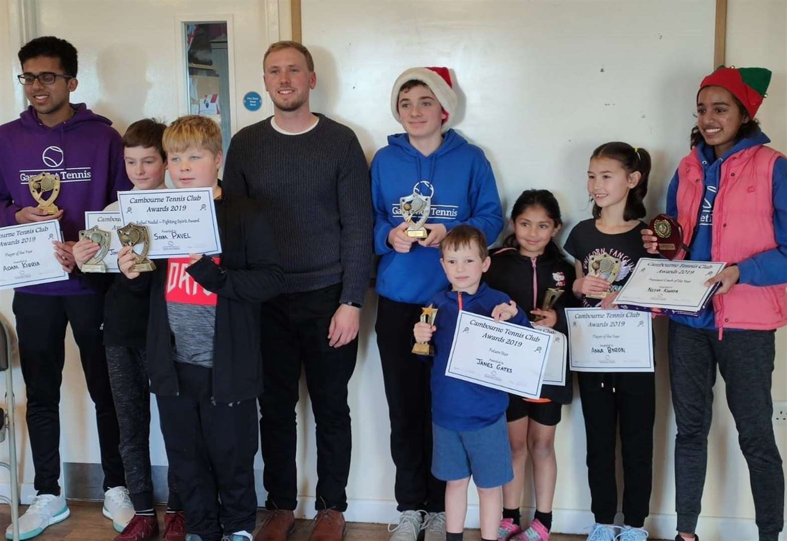 Aces serve up success at Cambourne Lawn Tennis Club