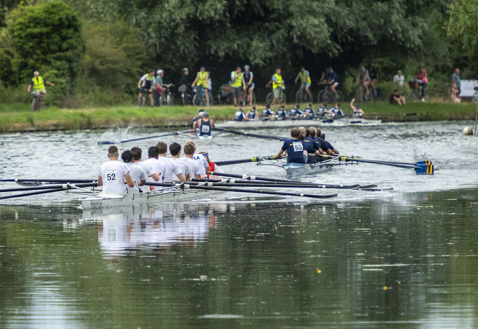 Cantabs and Cambridge 99 maintain the Headship pace in the Town Bumps