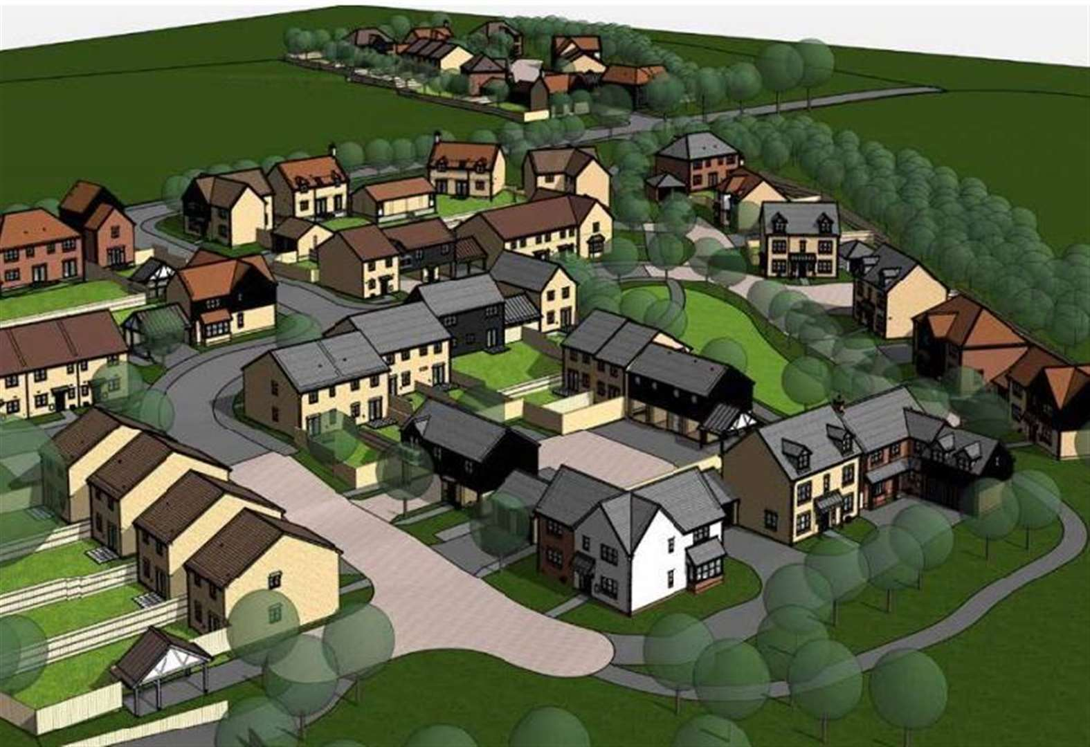 Controversy as 55 new homes approved for Linton after tight vote