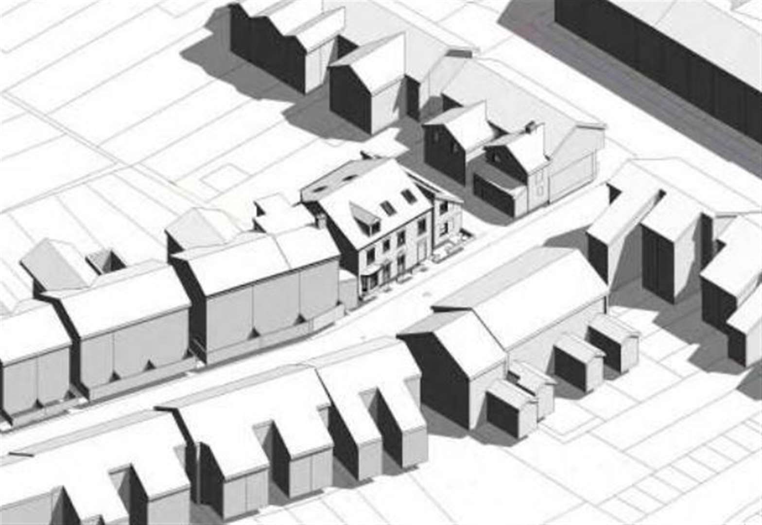 Five flats planned for one building turned down by Cambridge City Council