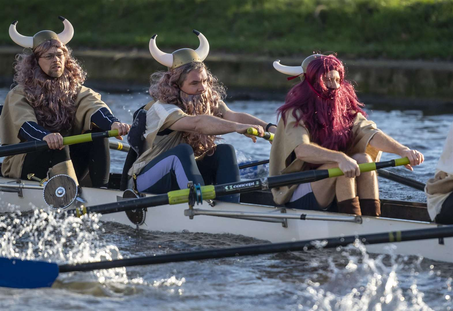 Fun, frolics and fancy dress rowing at the Cambridge Head