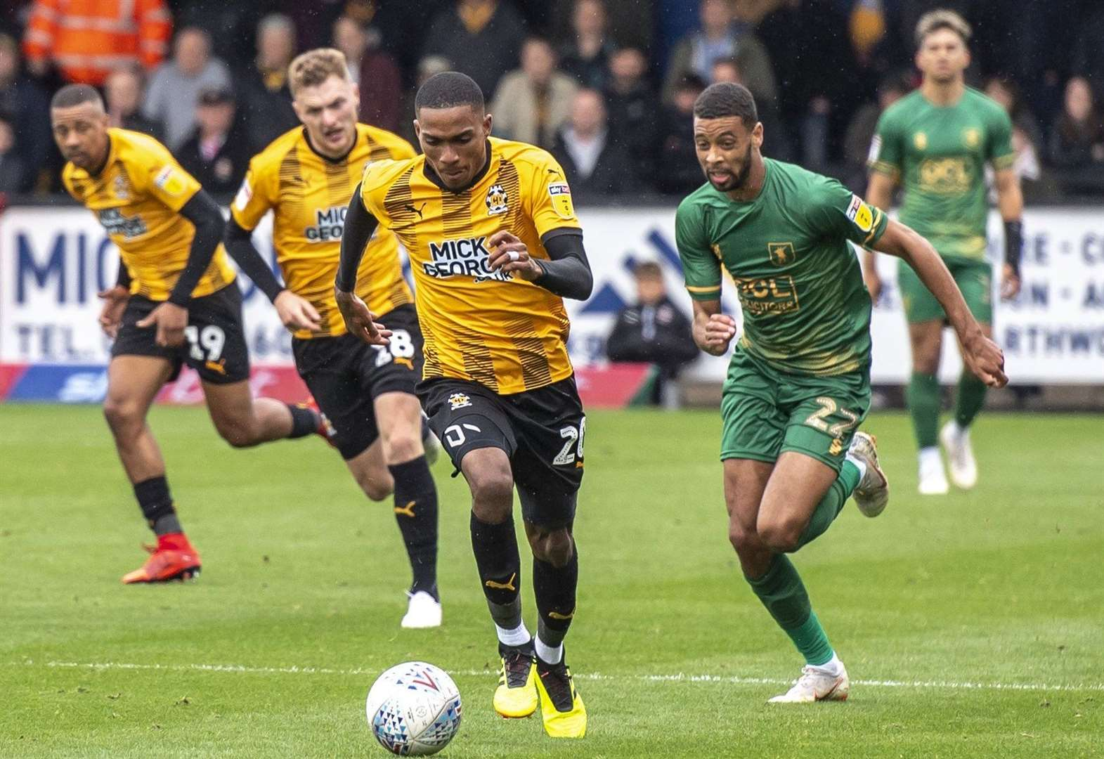 Family is inspiration for Jevani Brown to succeed in professional ranks with Cambridge United