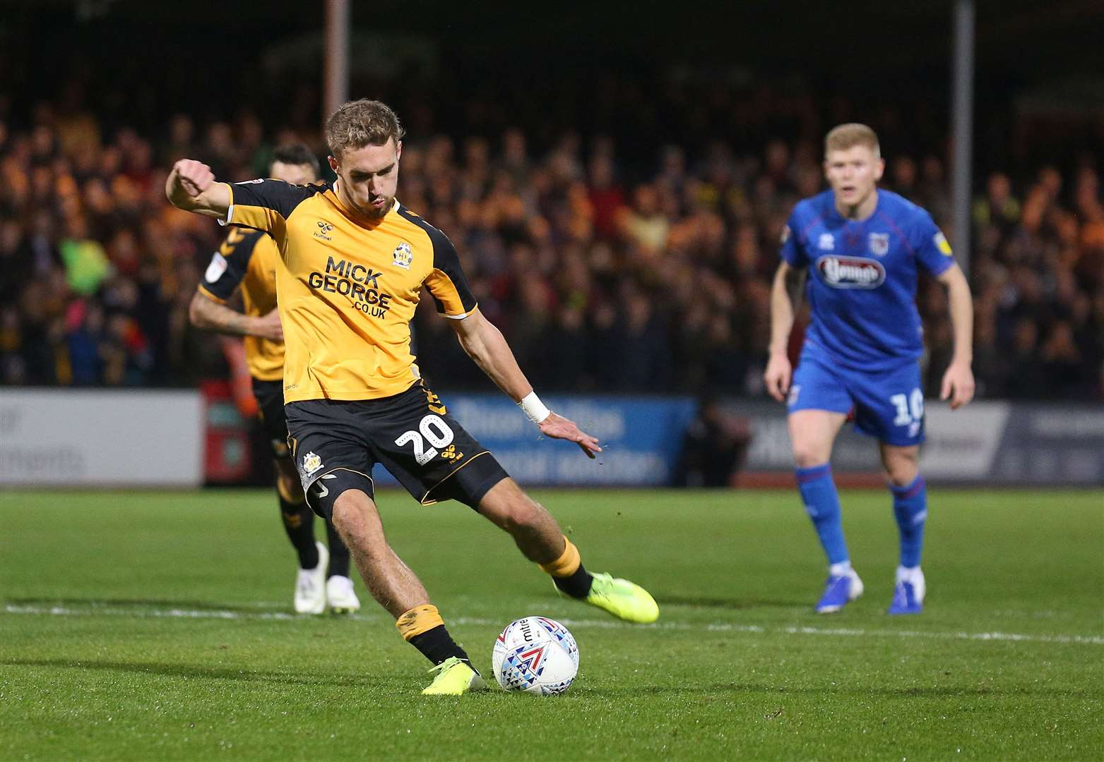 Colin Calderwood hopes Sam Smith can continue rich vein of form for Cambridge United