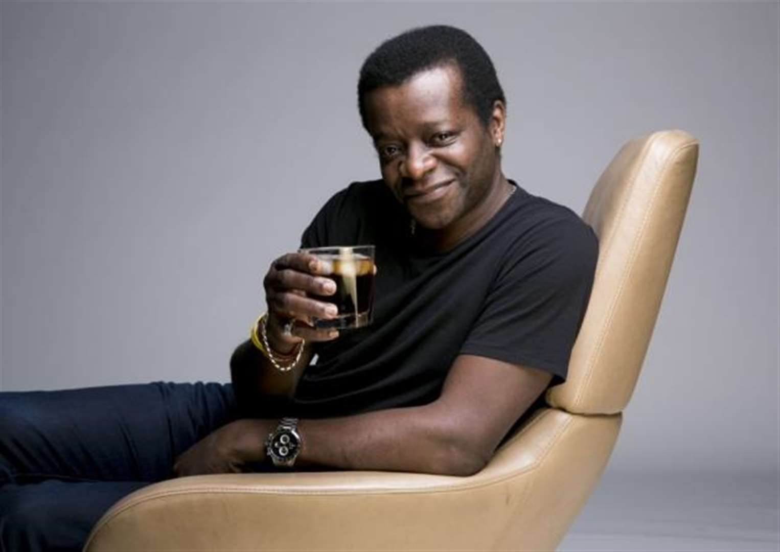 Stephen K Amos is heading to Cambridge to spread some fun and joy