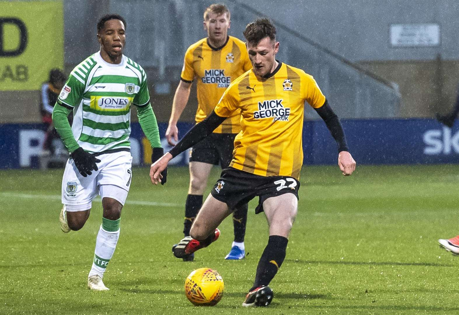 Determined Paul Lewis flourishes after finding feet at Cambridge United