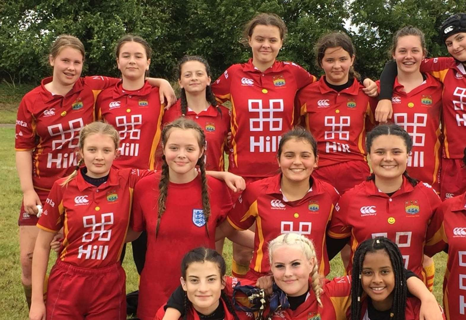 Cambridge Rubies sparkle with maiden National Girls' Under-15 cup success over Harwich & Dovercourt