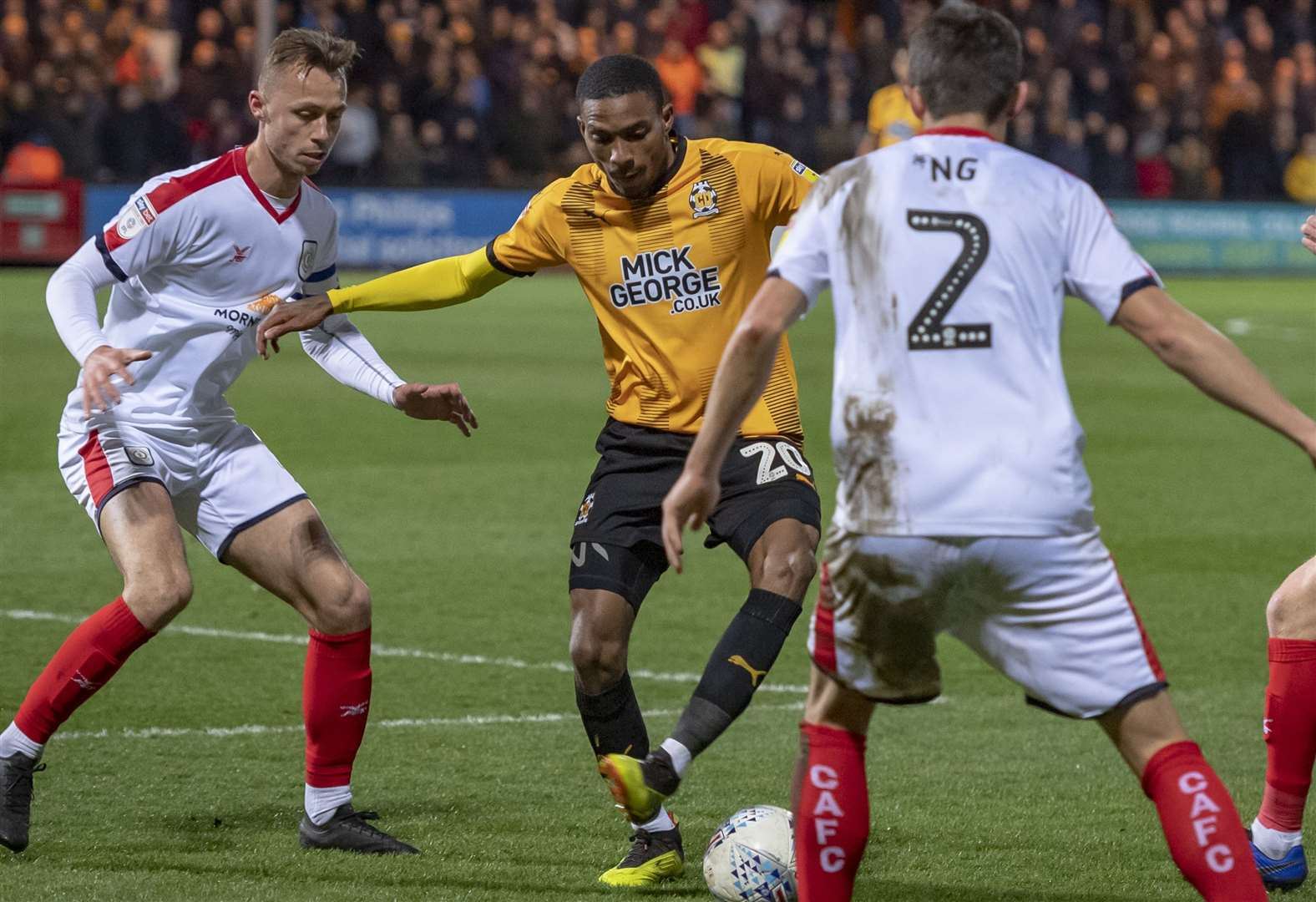Colin Calderwood thankful for a point as misfiring Cambridge United are held by Crewe Alexandra