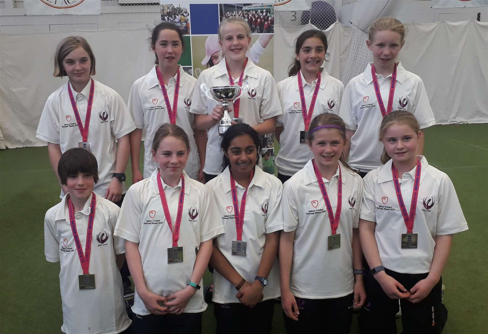 The Perse School make big impression at Lady Taverners' National Schools' Indoor Cricket finals