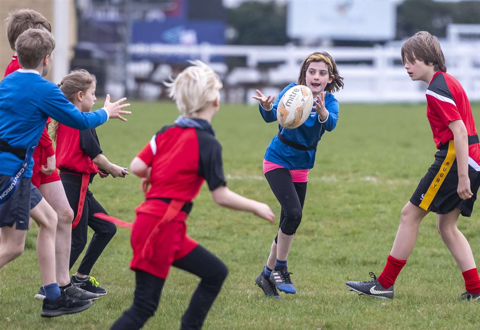 Youngsters get a taste of rugby at Shelford with Cambridge School Sports Partnership