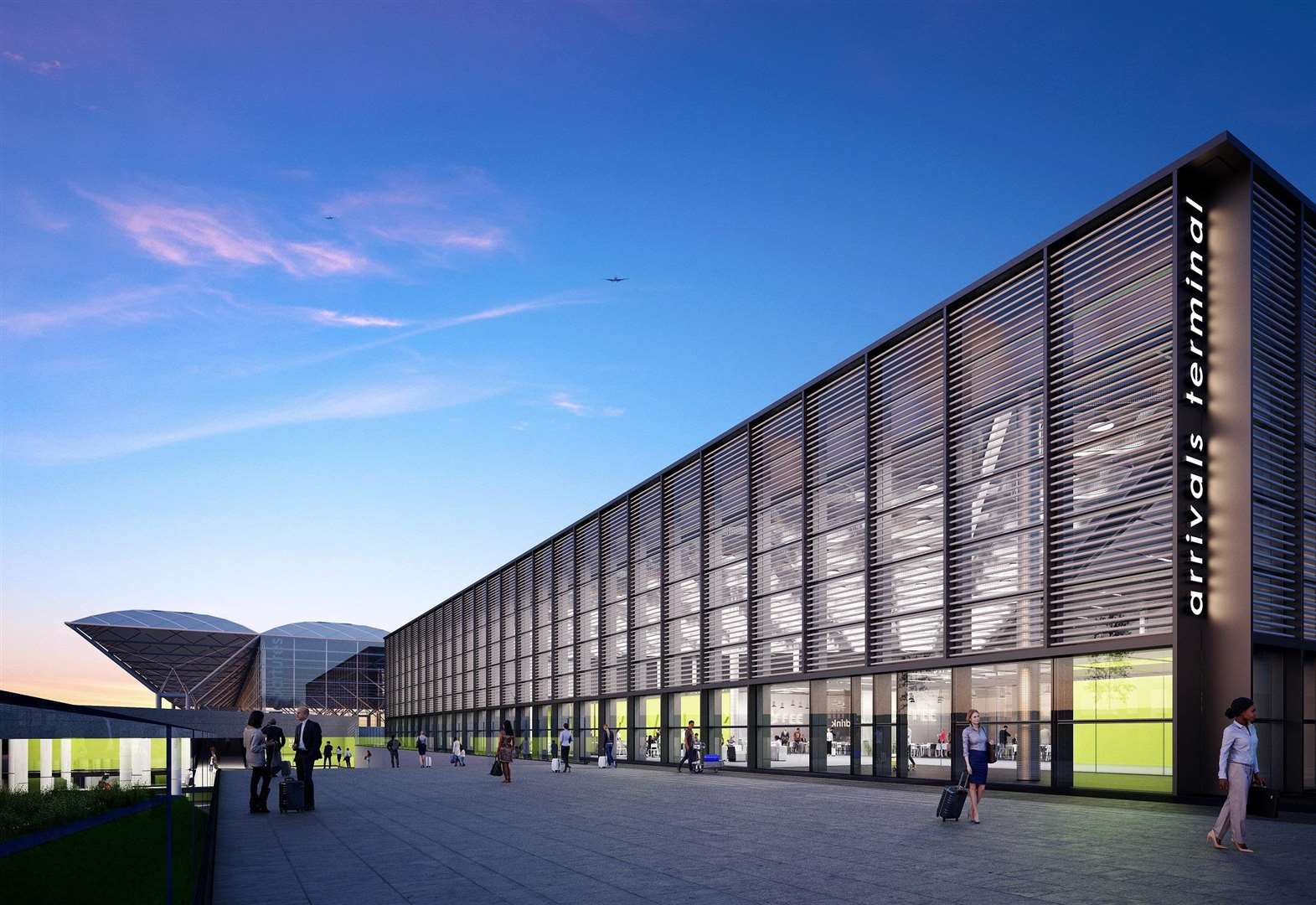 Take a virtual walk through Stansted Airport's new £150million arrivals terminal