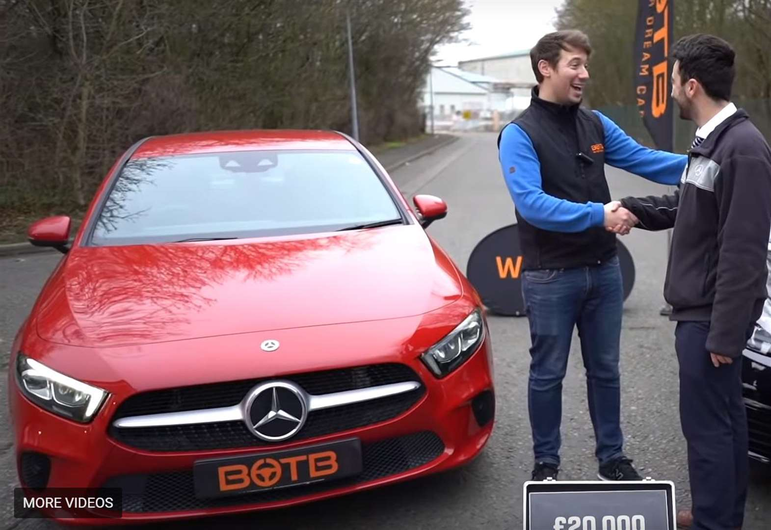 Cambridgeshire man wins two supercars worth £88,000