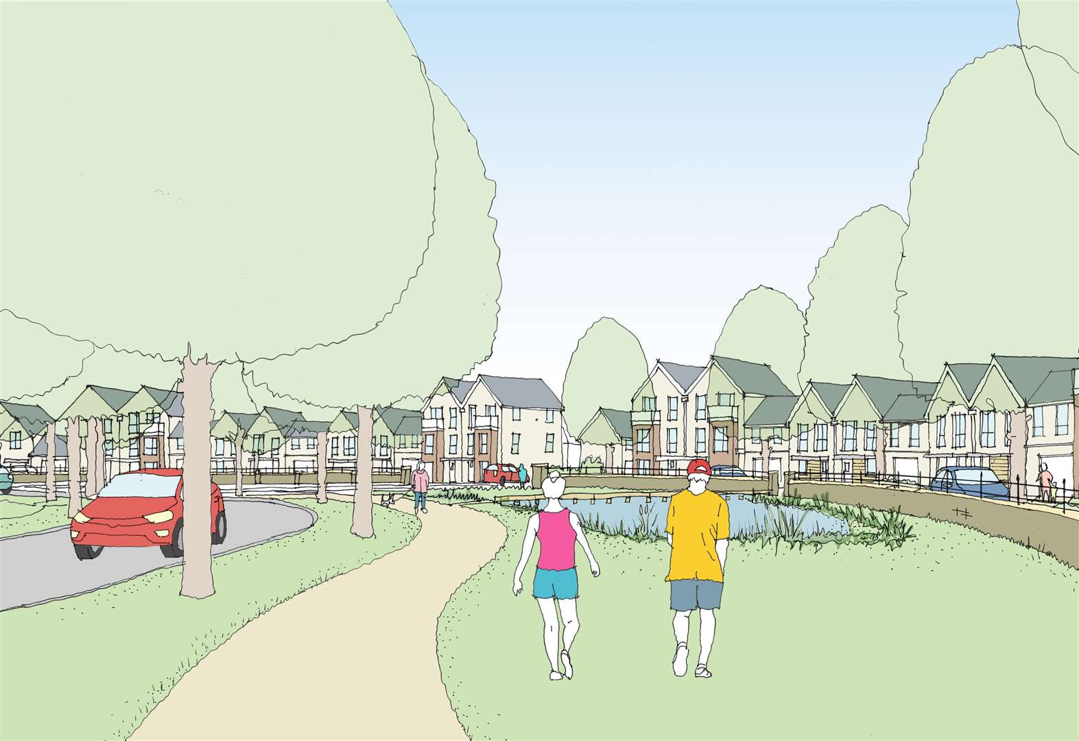 Work to begin on 783 homes at Cambourne West - and developer will contribute more than £40m for community