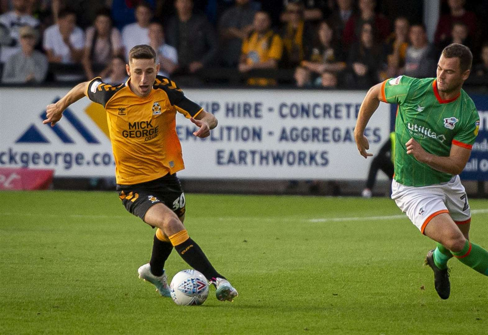 Tottenham's Jack ready to roll for Cambridge United