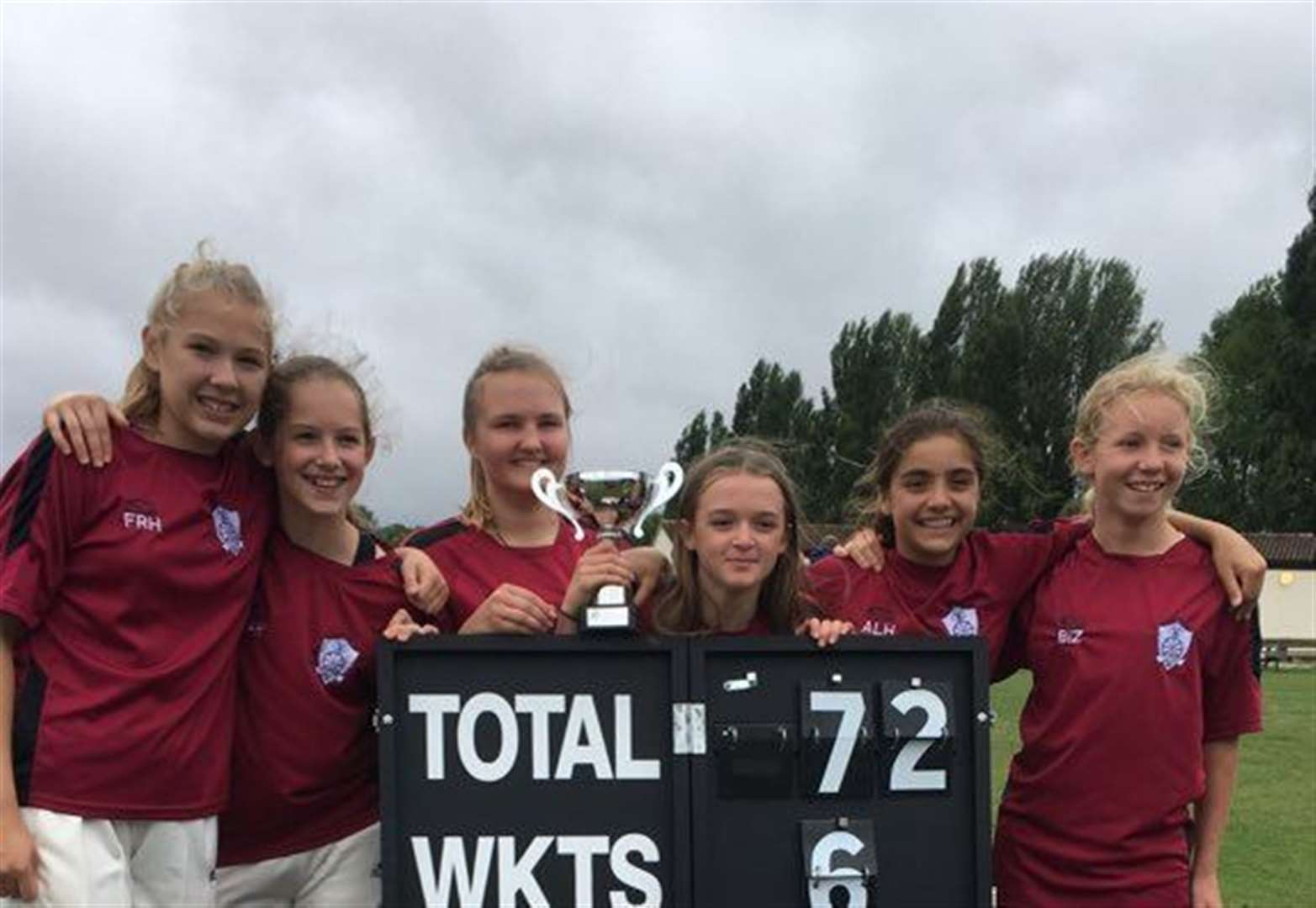 Coton under-13s and Thriplow under-15s girls' cricket teams reach Lady Taverners T20 National finals