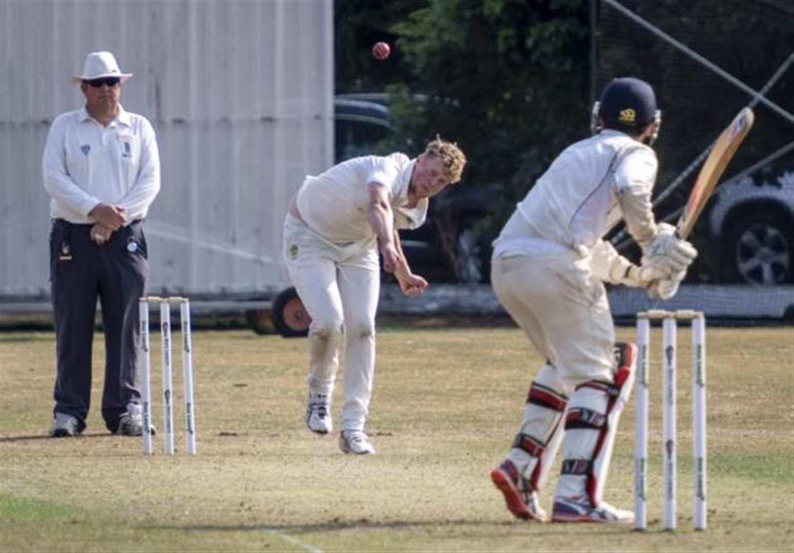 Sharmal Anderson has a wicket laden weekend for Foxton