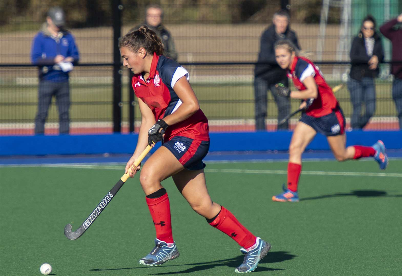 Meg Crowson double helps Cambridge City secure third place in Investec Women's Hockey League, Conference East