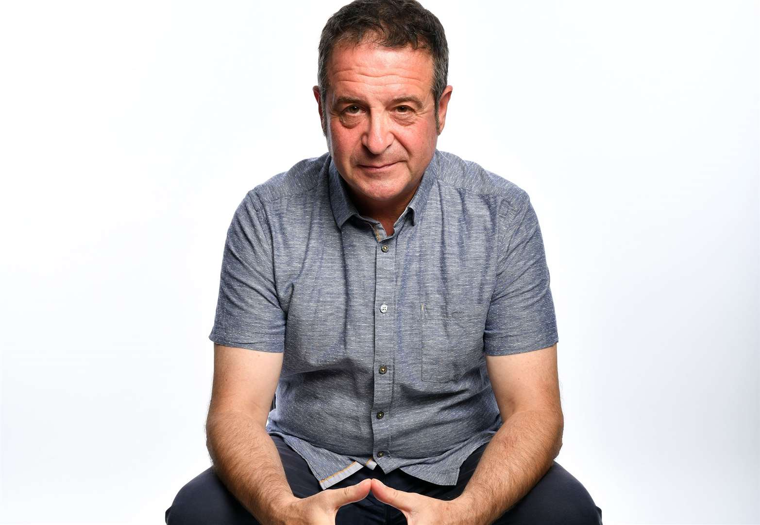 Mark Thomas interview: We need a new national anthem... something about being good neighbours