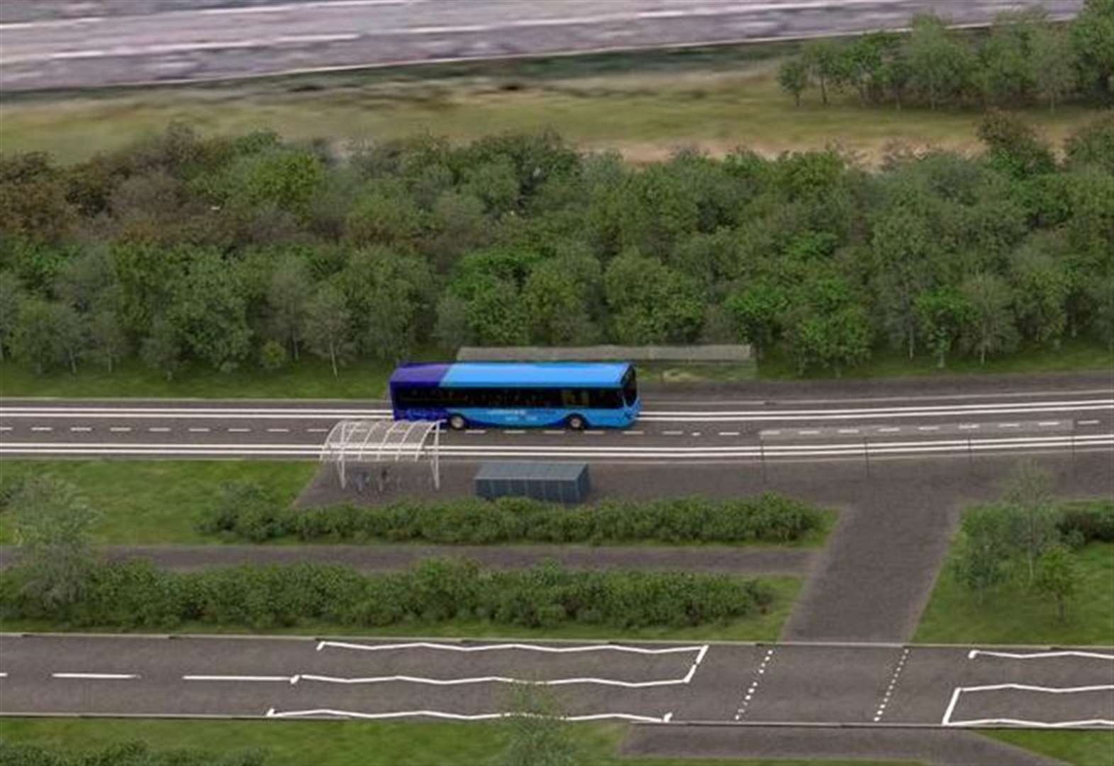 Off-road Cambourne to Cambridge busway route unveiled