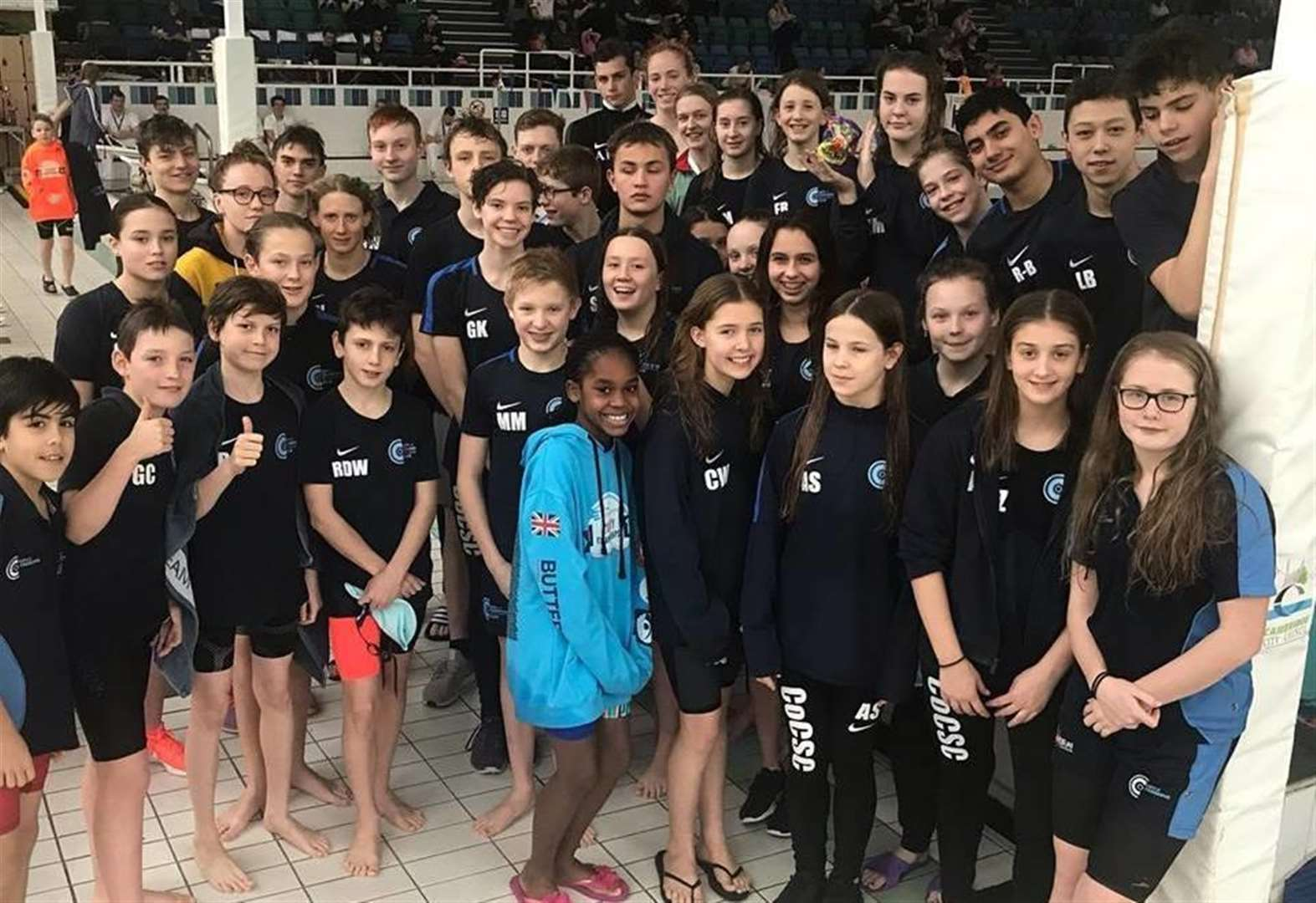 City of Cambridge Swimming Club celebrate golden delight at County Championships